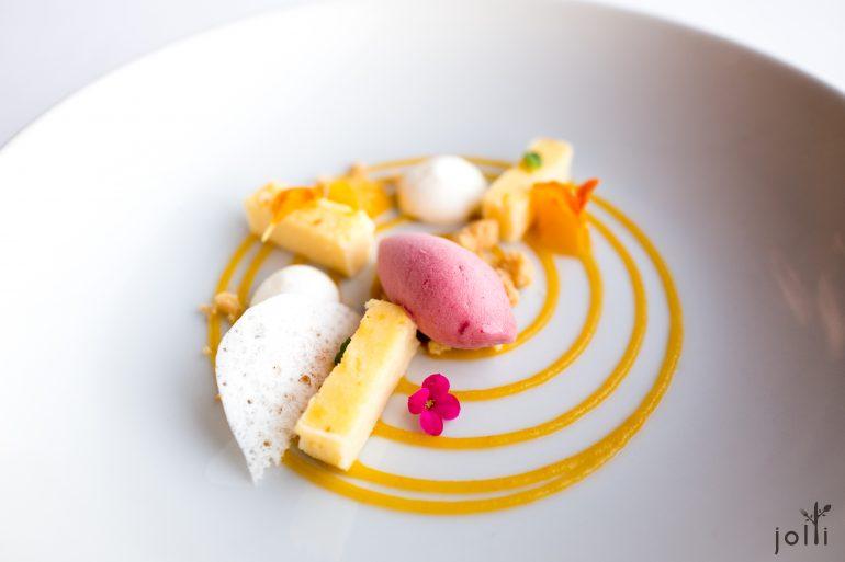 蜜桃芝士蛋糕-蜜桃冰淇淋-蜜桃酱-山羊奶酪