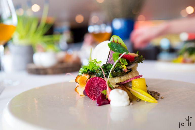 灵感来自名厨MichelBras的沙拉
