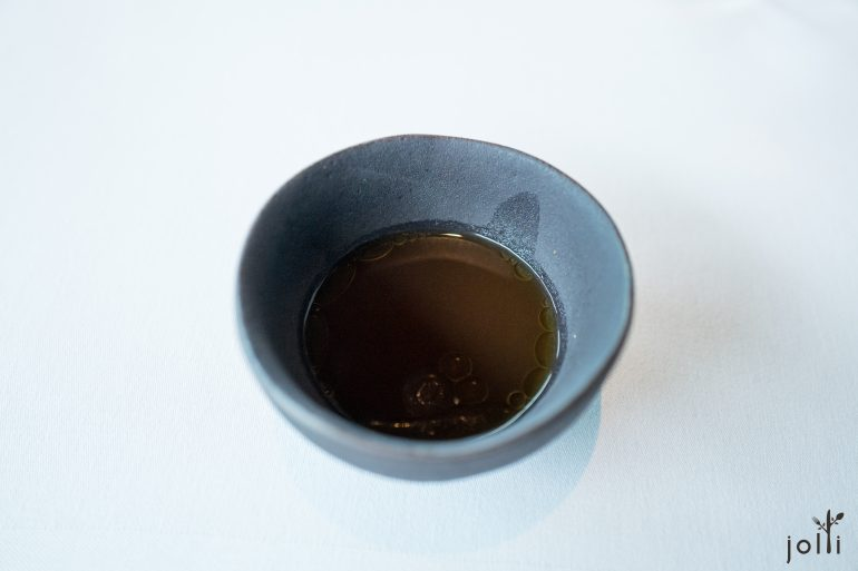 烤鴨骨櫻桃醋湯