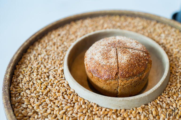 古麥磨製酵母麵包