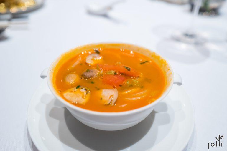 龍蝦頭熬的湯