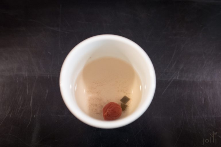 梅子昆布茶