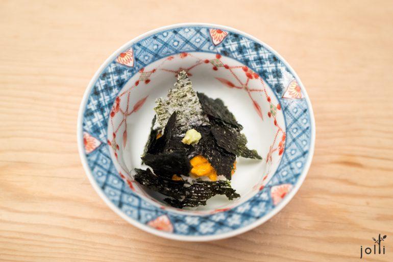 赤海膽海苔飯