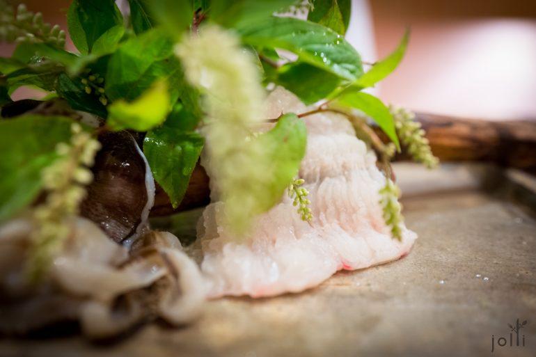海鰻用骨切法處理