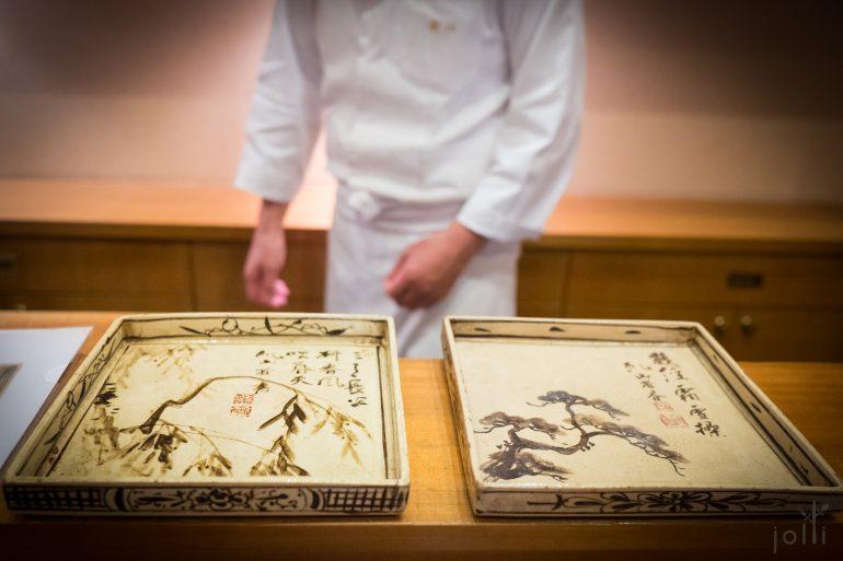 京都陶艺家尾形干山的作品