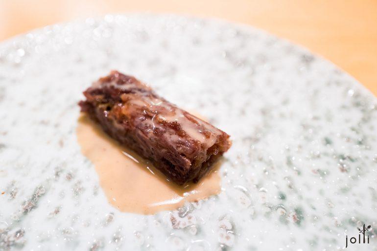 伊比利亚猪尾-山羊奶酪-芥末