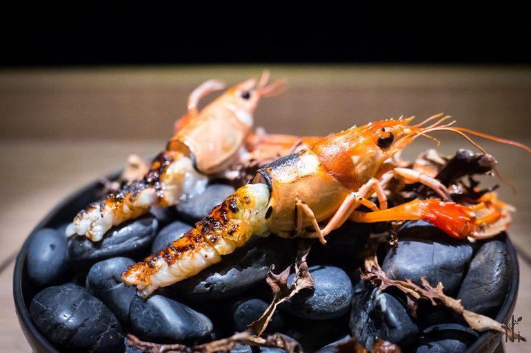 小龙虾-焦糖-酸奶油-杜松粉