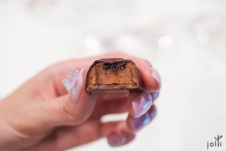 花生醬和果醬巧克力