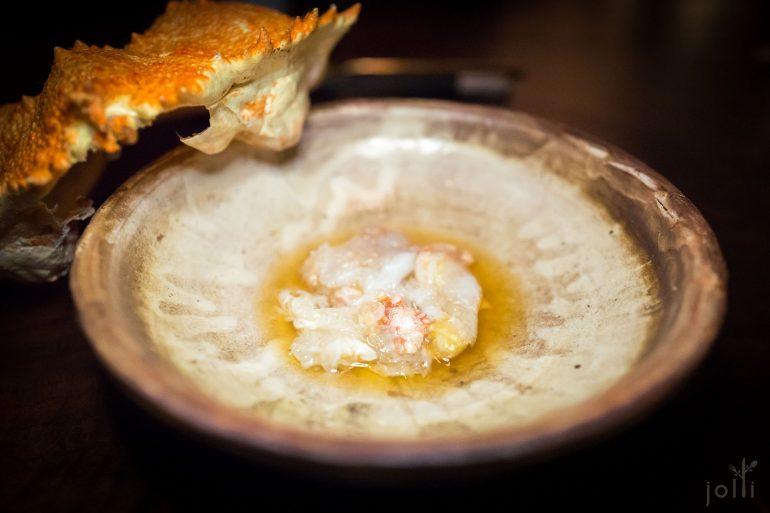 饅頭蟹搭醋出汁