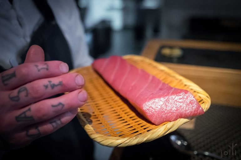 熟成4星期的日本鲔鱼
