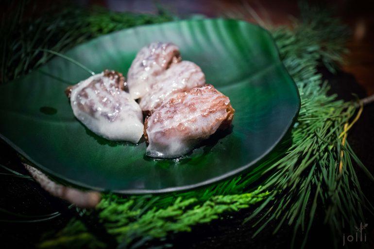 猪脂烤熏羊肚菌