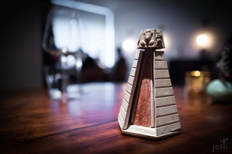 金字塔甜品菜单