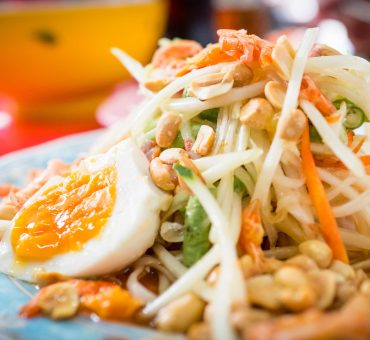 曼谷|Som Tam Jay So-本地人最愛的青木瓜沙拉專門店