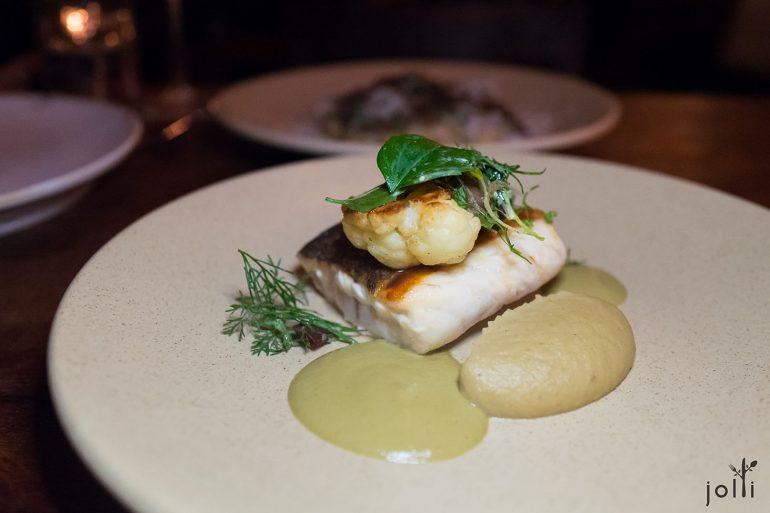 石首魚配青混醬