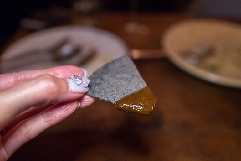 玉米片蘸混酱