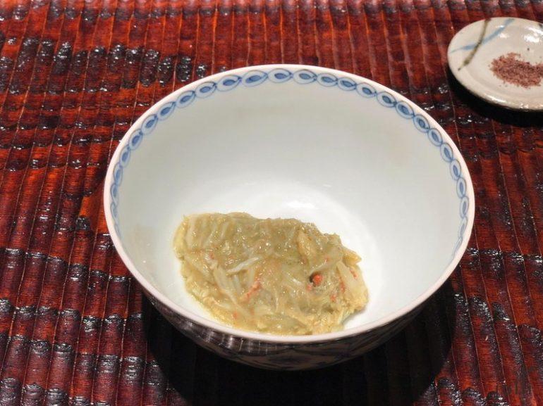 蟹身及蟹膏幾乎像奶油般在嘴裡融化