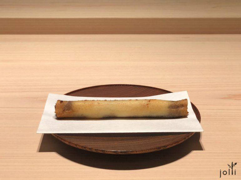 小豆及奶油奶酪春卷
