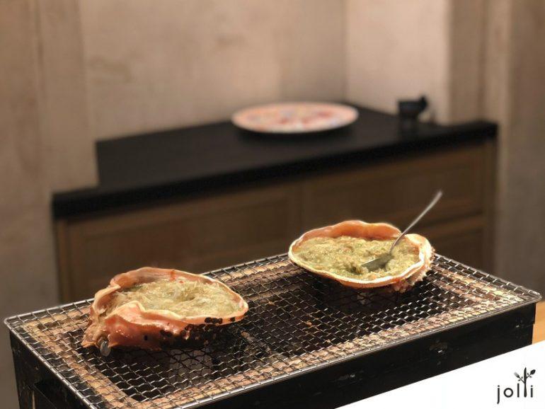 蟹殼煮蟹身及蟹膏