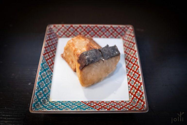 炸䲠魚及海老芋