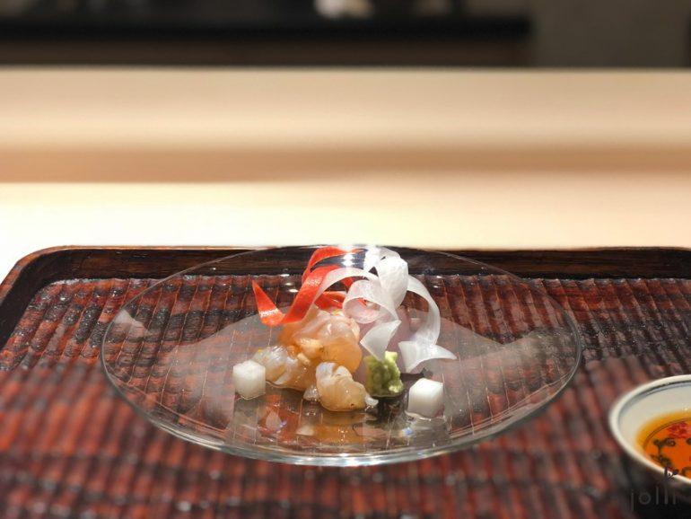 炭烤金目鯛及伊勢龍蝦