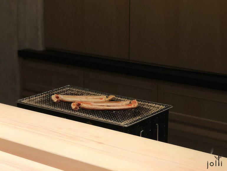 炭烤「越前蟹」腳