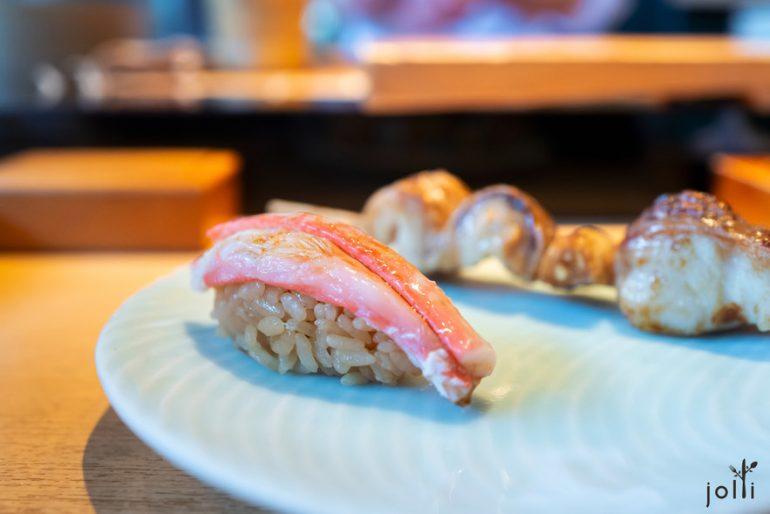 头矮蟹寿司