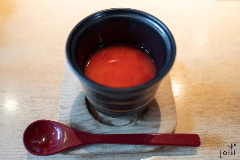 梅醋茶碗蒸