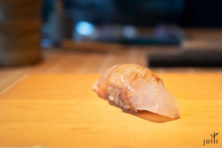 昆布漬比目魚壽司
