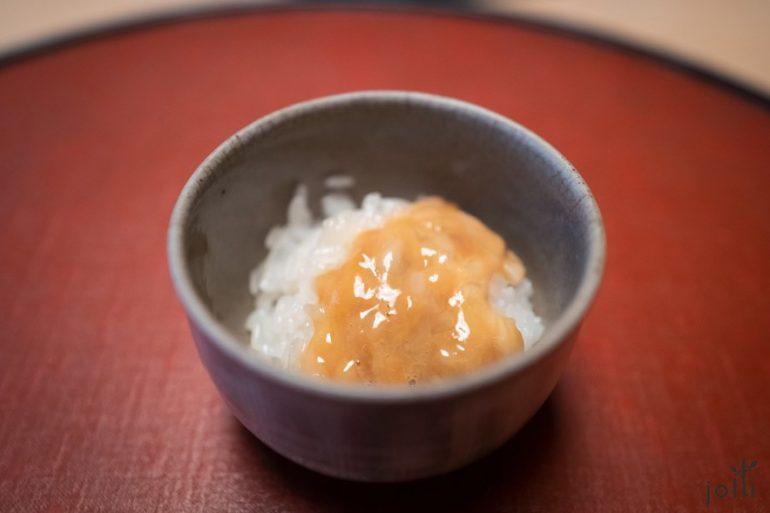 海參腸蒸飯
