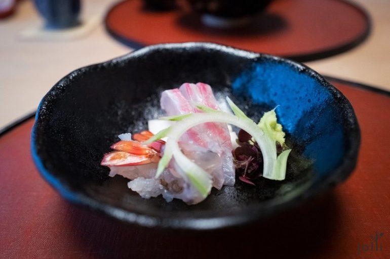 鯛魚及車海老刺身