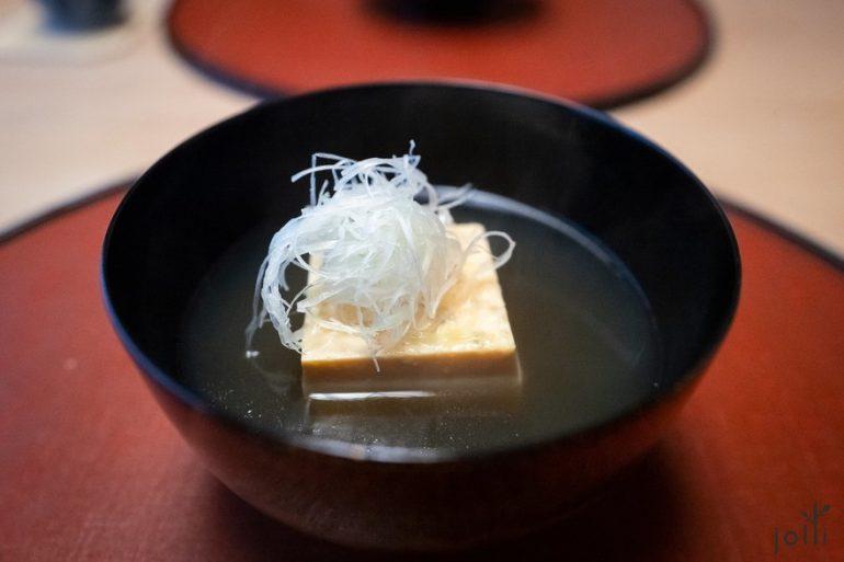 甲魚玉子豆腐