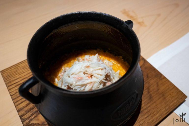 松葉蟹西班牙式燉飯