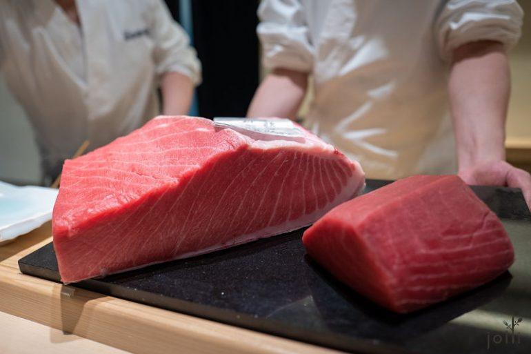 和歌山县那智胜浦的鲔鱼,出自著名供应商樋长