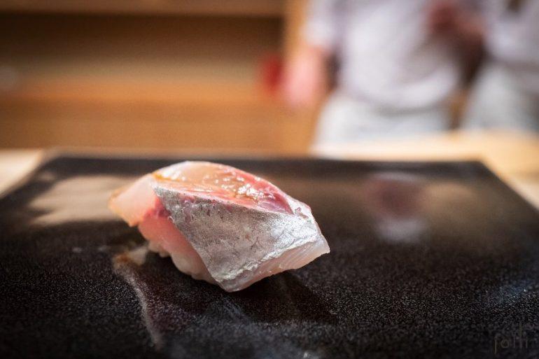 竹莢魚壽司