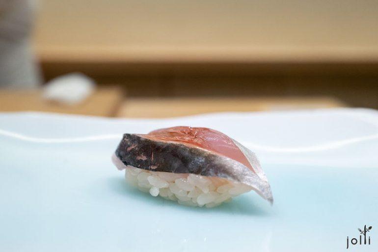 竹荚鱼寿司