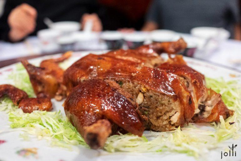 脆皮糯米鸡