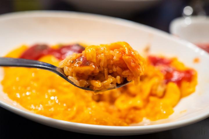 番茄洋葱肉碎饭粒粒分明带咬劲