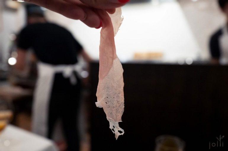 薄得透光的「Bon Dabon」火腿