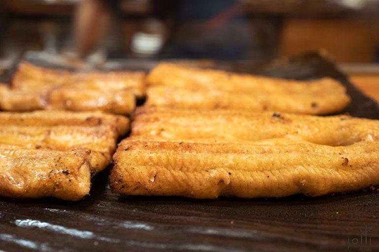 白烧天然鳗鱼