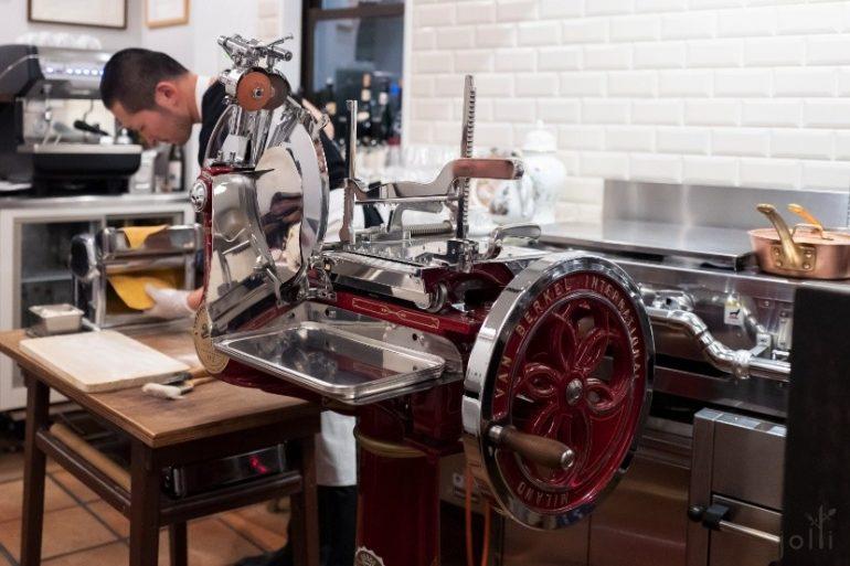 300万日元的意大利火腿切片机