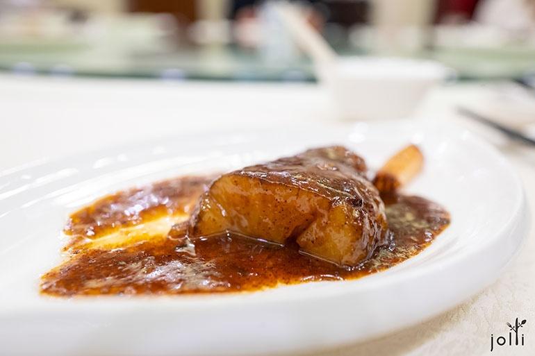 葱烧虾籽海参