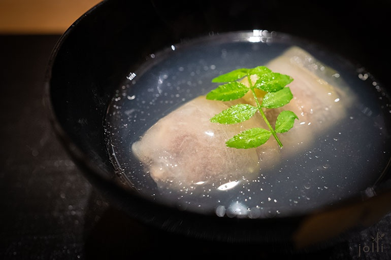 冬瓜牛尾卷配牛尾汤