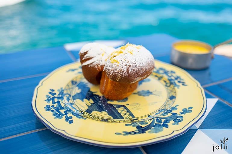 加尔达柠檬玫瑰花蛋糕