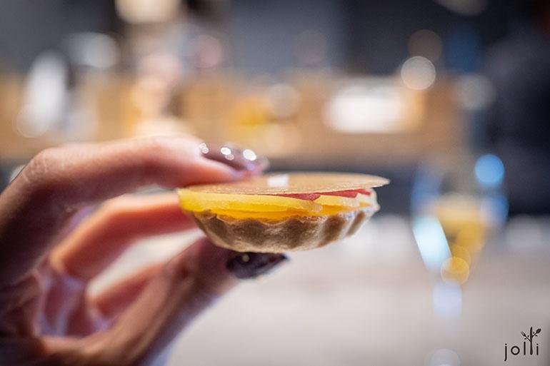 红薯鹅肝奶油挞饼