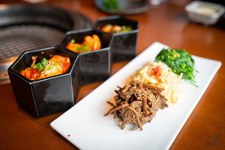 韩式凉拌菜及泡菜