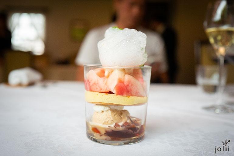 白桃配伯爵茶雪葩及果凍