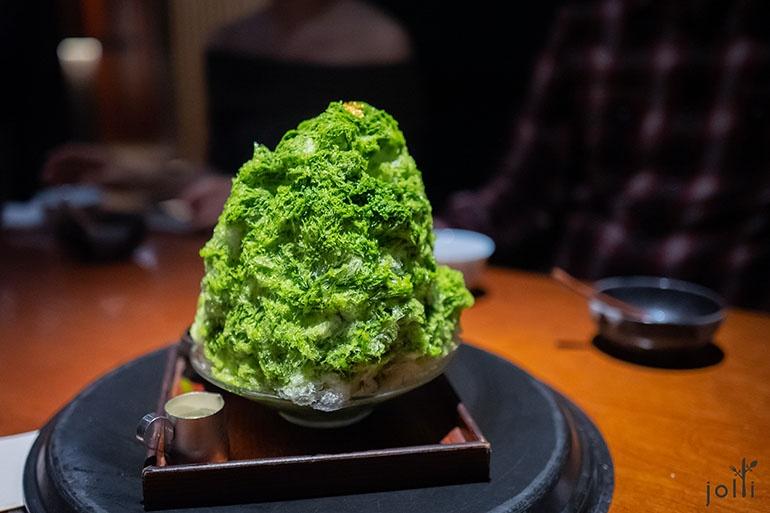 京都小山園抹茶刨冰