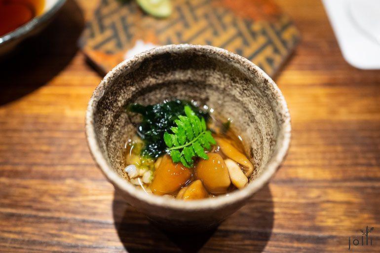 滑子菇配荞麦及海藻