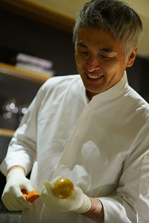「Sugalabo」的成田一世 (攝影師:Yohei Murakami)