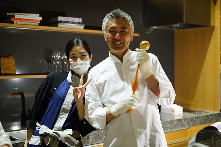 「été」的莊司夏子與「Sugalabo」的成田一世 (攝影師:Yohei Murakami)